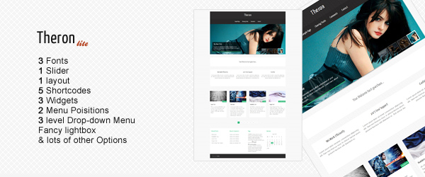 Theron Lite - Free WordPress Theme