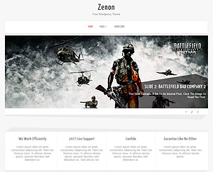 Zenon Lite Free Wordpress Theme
