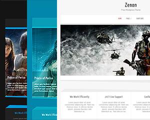 Zenon Pro Wordpress Theme